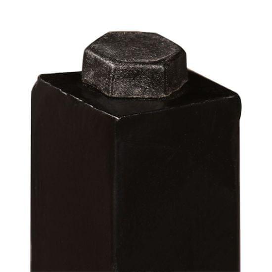 shumee Barska garnitura 3-delna predelan les, pravo usnje in platno