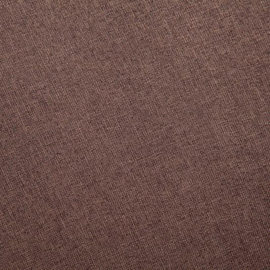shumee Kavč dvosed iz blaga rjave barve