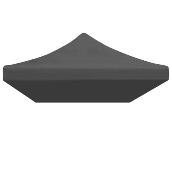 shumee antracitszürke tető partisátorhoz 3 x 6 m