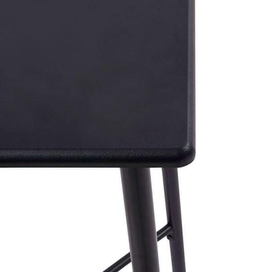 shumee fekete MDF bárasztal 60 x 60 x 111 cm