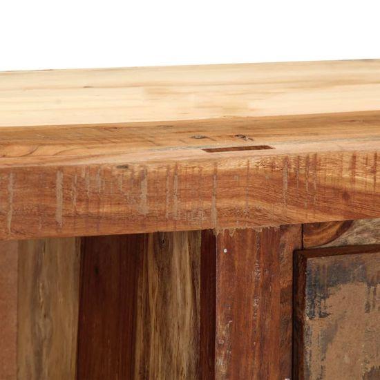 shumee TV omarica 100x30x33 cm iz trdnega predelanega lesa