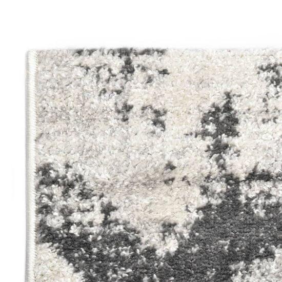 shumee Preproga siva in bela 160x230 cm PP