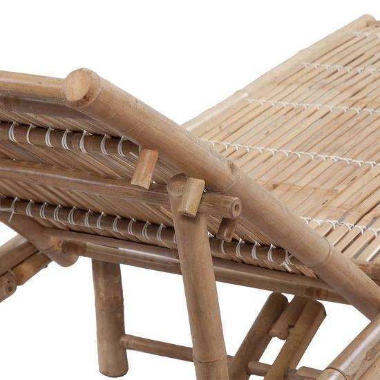 shumee Ležalnik iz bambusa