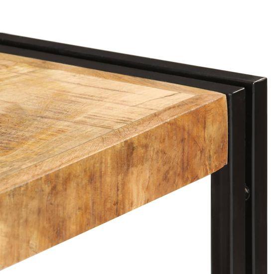 shumee TV omarica 150x30x40 cm trden mangov les