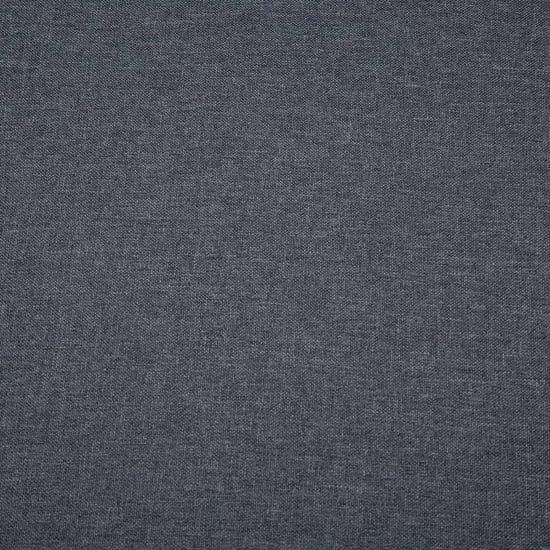 shumee Kavč trosed z oblogo iz blaga 172x70x82 cm temno sive barve