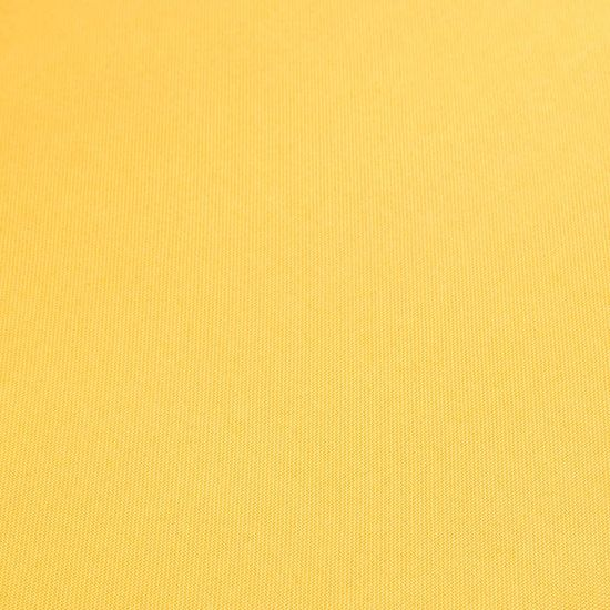 shumee 4 db sárga szövet és tömör tölgyfa étkezőszék