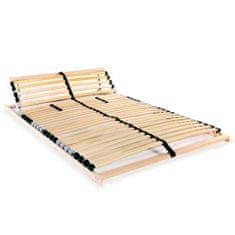 shumee Lamelový posteľný rošt s 28 lamelami a 7 zónami 100x200 cm