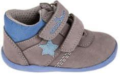 Medico chłopięce buty skórzane EX5001/M59 19 grey