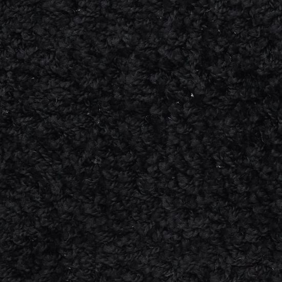 shumee Preproge za stopnice 15 kosov 65x25 cm črne
