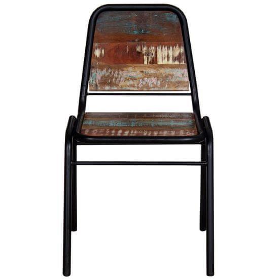 shumee Jedilni stoli 2 kosa trden predelan les