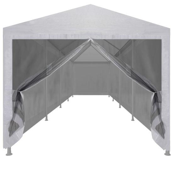 shumee Namiot imprezowy z 10 siatkowymi ściankami, 12 x 3 m