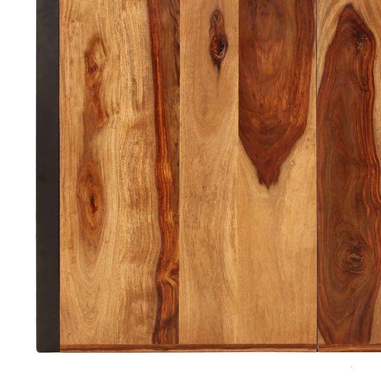Greatstore Jedilna miza iz trdnega palisandra 180x90x75 cm