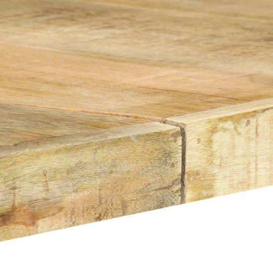 shumee Jedilna miza 180x90x76 cm trden mangov les