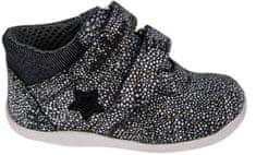 Medico Lány bőrcipő EX5001/M58 19 fekete/fehér