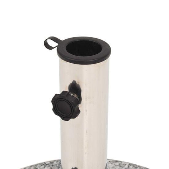 shumee Podstavek za senčnik granit okrogel 22 kg