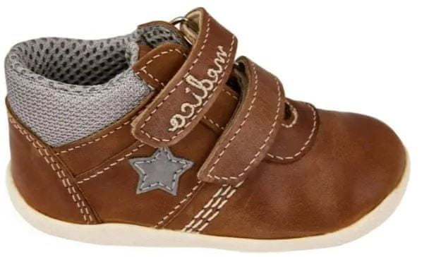 Medico Dětská kožená obuv EX5001-M57 21 hnědá