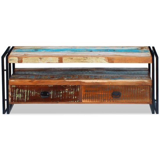 shumee TV omarica iz trdnega predelanega lesa