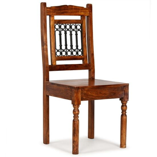 shumee Jedilni stoli 2 kosa trden les in palisander klasične oblike
