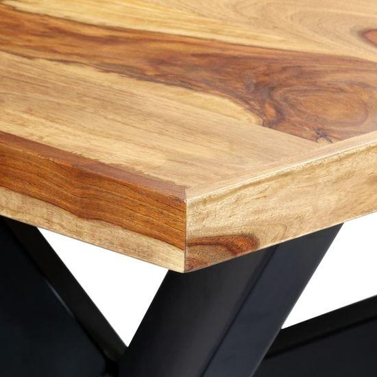 shumee Jedilna miza 180x90x75 cm trden palisander