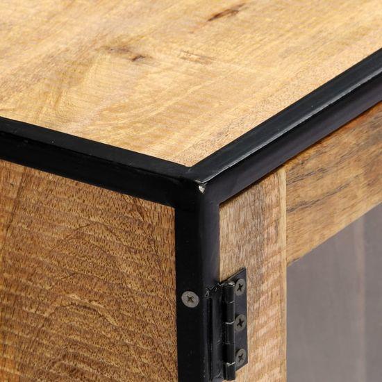 shumee Szafka pod TV, 120 x 30 x 75 cm, lite drewno odzyskane