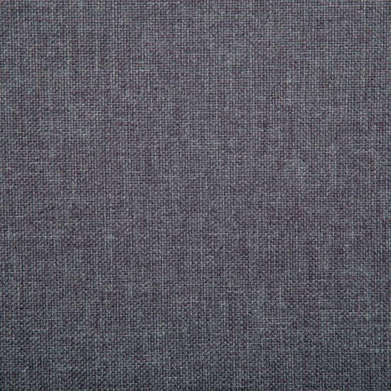 shumee Kavč dvosed z oblogo iz blaga 115x60x67 cm temno sive barve
