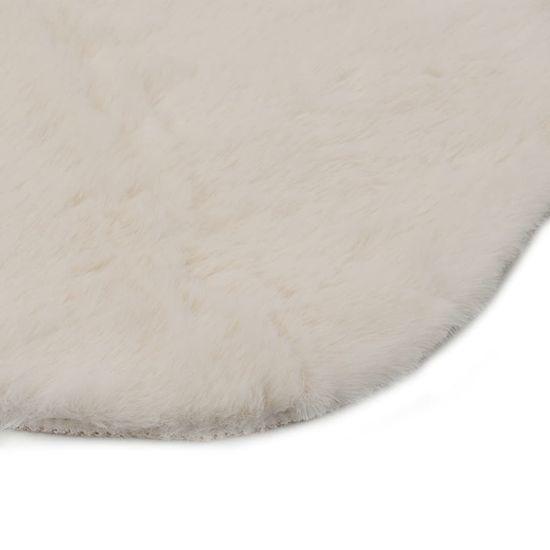 slomart Preproga 65x95 cm umetno zajčje krzno krem