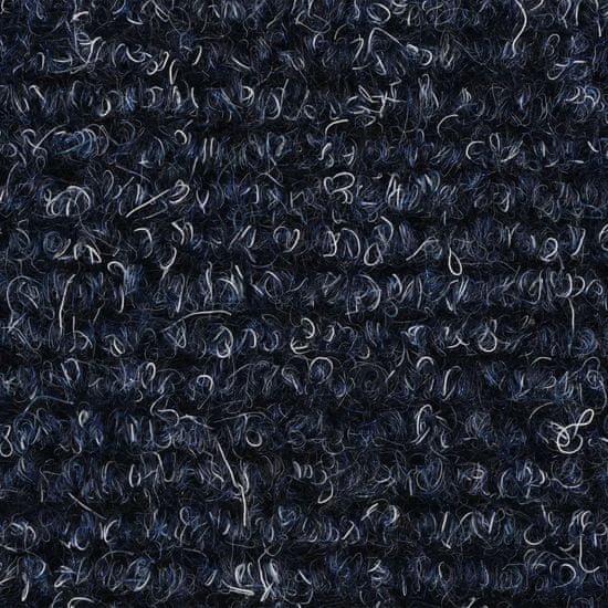 shumee Samoprzylepne nakładki na schody 15 szt, 54x16x4 cm, niebieskie