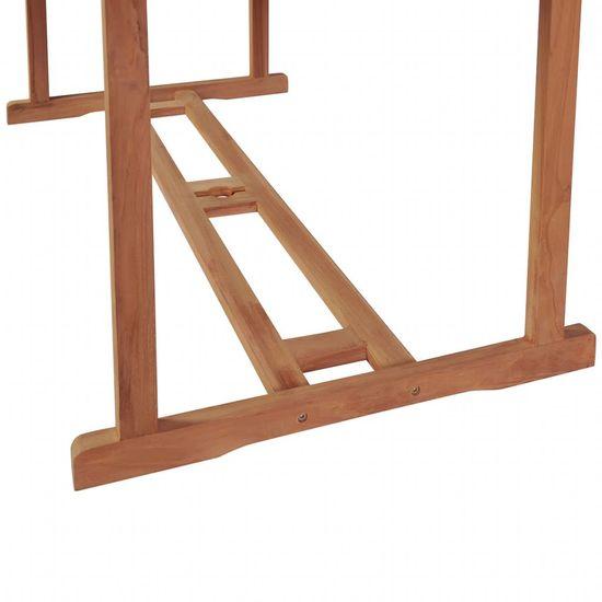 shumee 7-cz. zestaw mebli ogrodowych, lite drewno tekowe