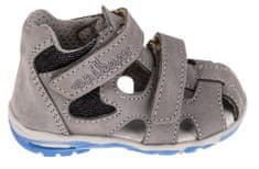 Medico chlapecké kožené sandály EX4520/M78 23 šedá