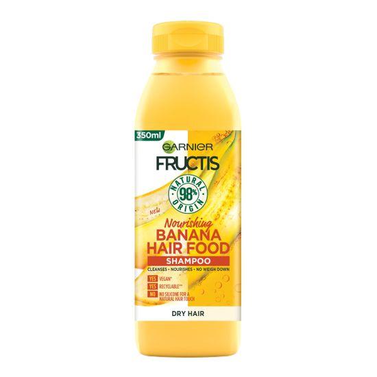 Garnier Fructis Hair Food Banana šampon za lase, 350 ml