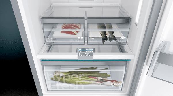 Siemens lednice s mrazákem KG39NHXEP