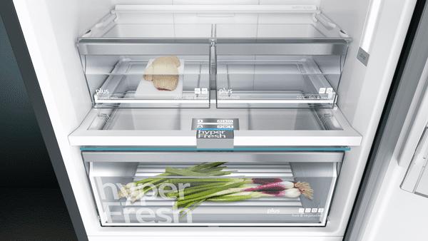 Siemens lednice s mrazákem KG49NAXDP