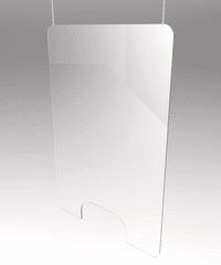 Plexi PMMA Sanitární stěna AP202007