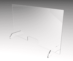 Plexi PMMA Sanitární stěna AP202003