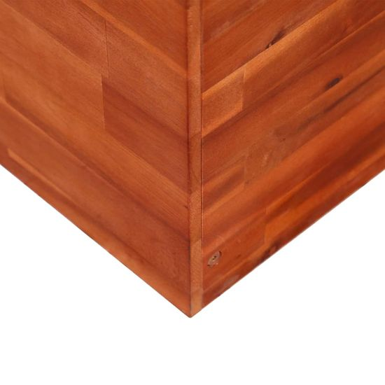 shumee Visoka greda iz akacijevega lesa 150x50x100 cm