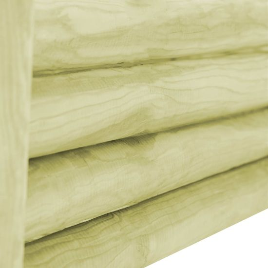 shumee Visoka greda iz impregnirane borovine 120x40x42 cm