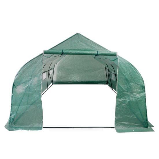 shumee Tunel ogrodowy ze stalową ramą i wejściem, 18 m²