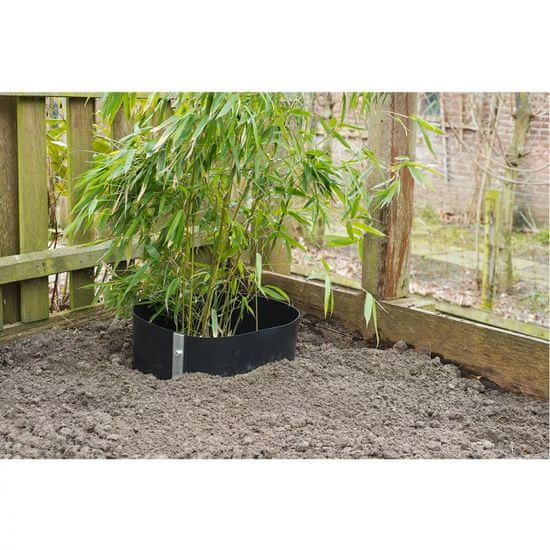 shumee Nature Zaščitno platno proti koreninam 0,7 x 3 m HDPE črno 6030226
