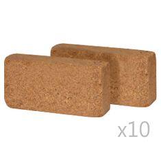 shumee Kocke iz kokosovih vlaken 20 kosov 650 g 20x10x4 cm