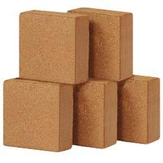 shumee Kocke iz kokosovih vlaken 5 kosov 5 kg 30x30x10 cm