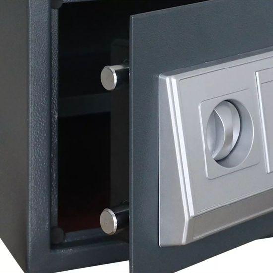 shumee Elektronski digitalni sef s polico 35 x 25 x 25 cm