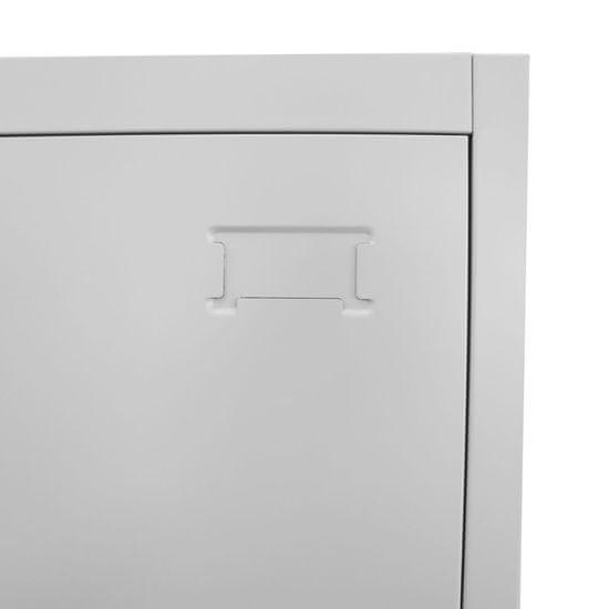 shumee Garderobna omarica na ključ 38x45x180 cm