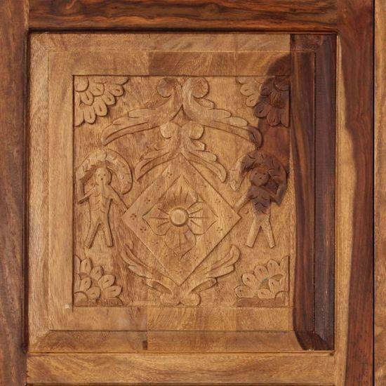 shumee Szafka, 110 x 45 x 80 cm, lite drewno sheesham