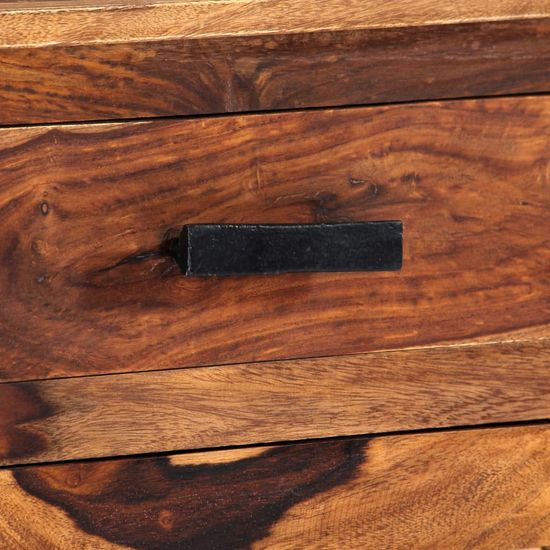 shumee Komoda 100x30x50 cm trden palisander