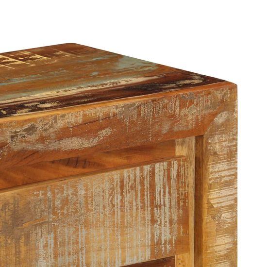 shumee Komoda 120x30x75 cm trden predelan les