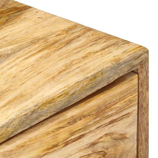 shumee Szafka boczna, 60x35x75 cm, lite drewno mango