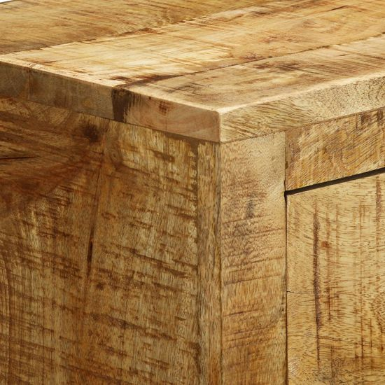 shumee Komoda s 3 predali neobdelani mangov les