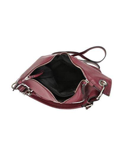 Carla Ferreri Ženska usnjena torbica AW19CF1334 Vino