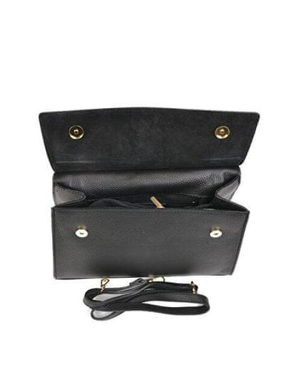 Carla Ferreri Ženska usnjena torbica AW19CF1551 Nero