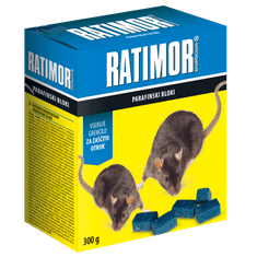 Ratimor Brodifacoum parafinski blok, 5 g / 300 g